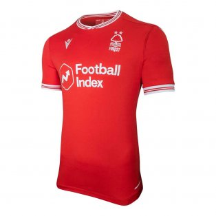 2020-2021 Nottingham Forest Macron Home Football Shirt