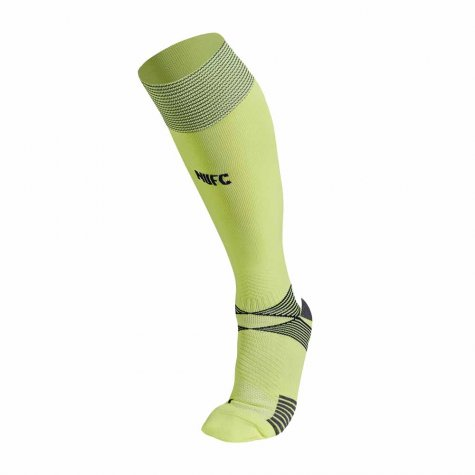 2020-2021 Newcastle Away Football Socks (Yellow)