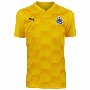 2020-2021 Newcastle Third Goalkeeper Shirt Yellow (Kids)