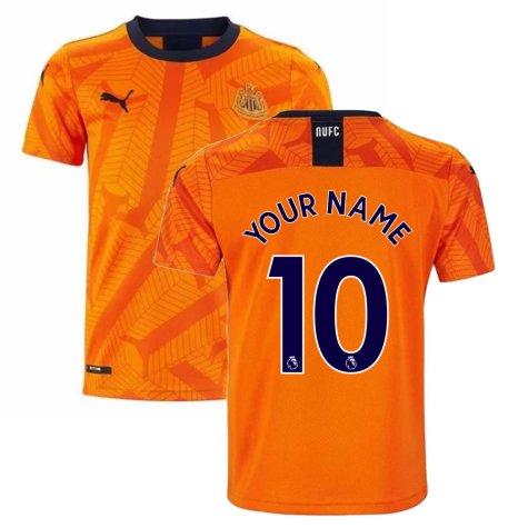 2019-2020 Newcastle Third Football Shirt (Kids) (Your Name)