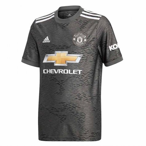 2020-2021 Man Utd Adidas Away Football Shirt (Kids)