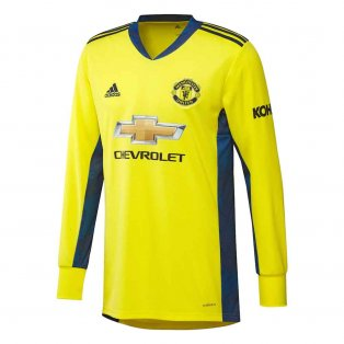 2020-2021 Man Utd Away Goalkeeper Shirt (Yellow)