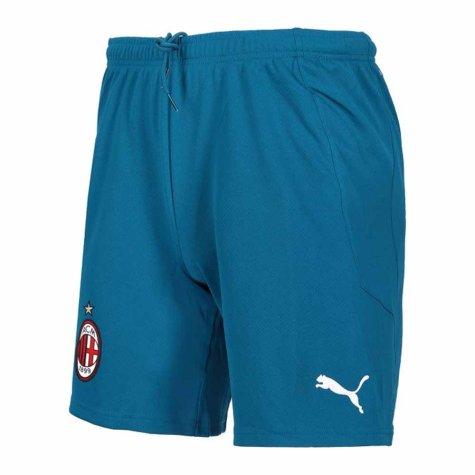 2020-2021 AC Milan Puma Third Shorts (Blue)