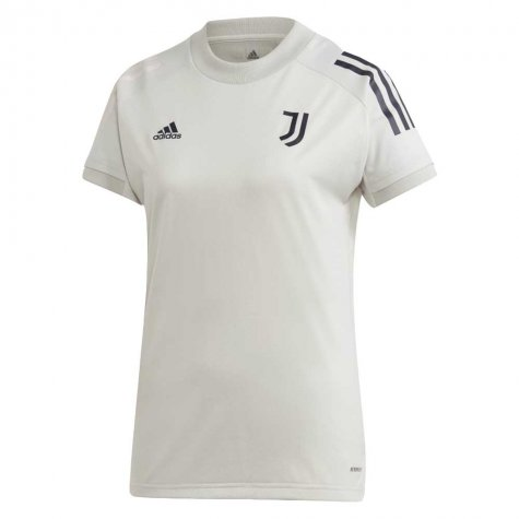 2020-2021 Juventus Adidas Training Shirt (Grey) - Kids