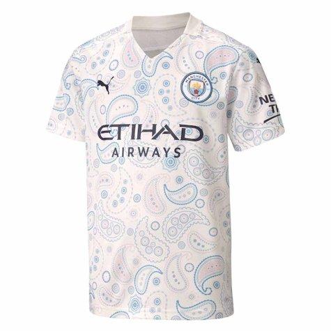 2020-2021 Manchester City Puma Third Football Shirt (Kids)
