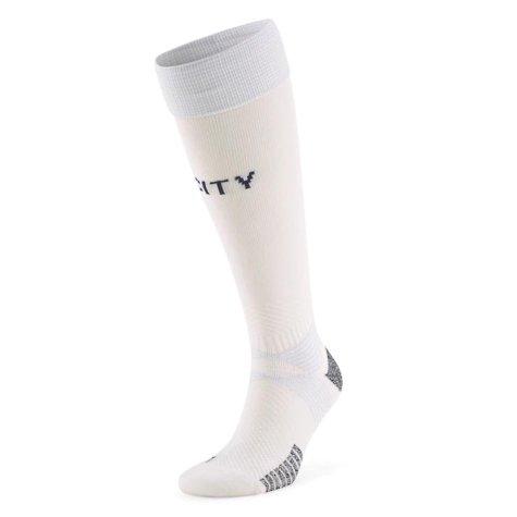 2020-2021 Manchester City Third Football Socks (White)