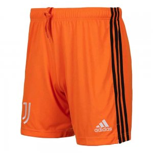 2020-2021 Juventus Adidas Third Shorts (Orange)