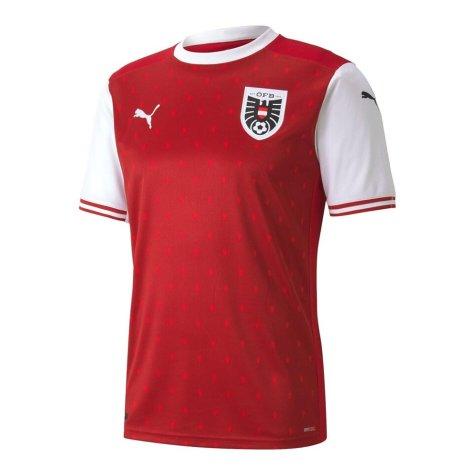 2020-2021 Austria Home Puma Football Shirt