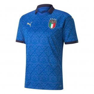2020-2021 Italy Home Puma Football Shirt