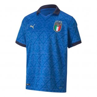 2020-2021 Italy Home Puma Football Shirt (Kids)