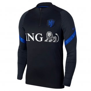 2020-2021 Holland Nike Training Drill Top (Black) - Kids
