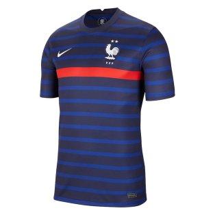 2020-2021 France Home Nike Football Shirt