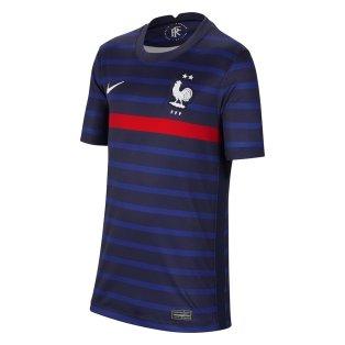 2020-2021 France Home Nike Football Shirt (Kids)