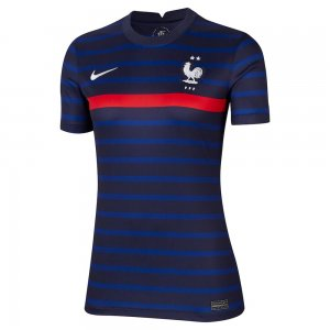2020-2021 France Home Nike Womens Shirt