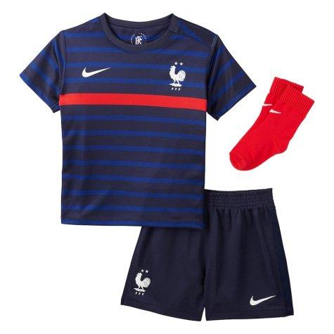 2020-2021 France Home Nike Baby Kit