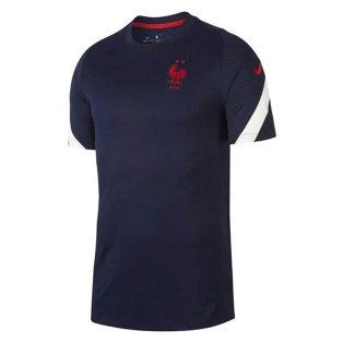 2020-2021 France Nike Training Shirt (Navy)