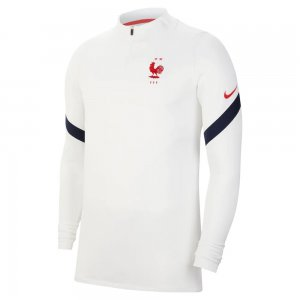 2020-2021 France Nike Training Drill Top (White)