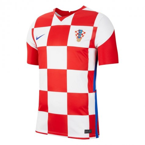 2020-2021 Croatia Home Nike Football Shirt