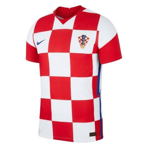 2020-2021 Croatia Home Nike Vapor Shirt