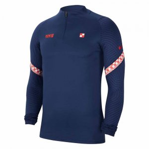2020-2021 Croatia Nike Drill Training Top (Navy)