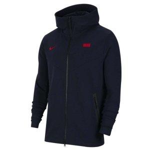 2020-2021 France Nike Tech Pack Hoodie (Obsidian)