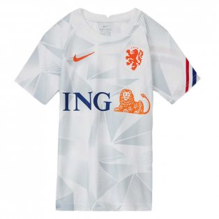 2020-2021 Holland Pre-Match Training Shirt (White) - Kids
