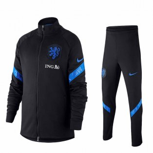 2020-2021 Holland Nike Dry Strike Tracksuit (Black) - Kids
