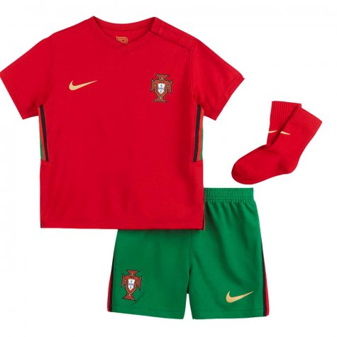 2020-2021 Portugal Home Nike Baby Kit
