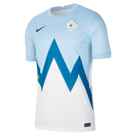 2020-2021 Slovenia Home Nike Football Shirt