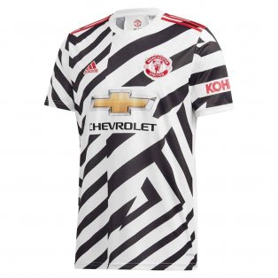 2020-2021 Man Utd Adidas Third Football Shirt