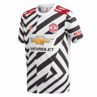 2020-2021 Man Utd Adidas Third Football Shirt (Kids)