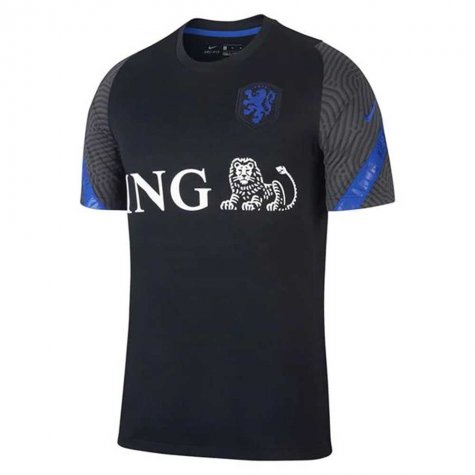 2020-2021 Holland Nike Training Shirt (Black) - Kids