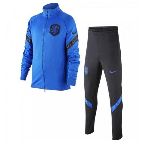2020-2021 Holland Nike Dry Strike Tracksuit (Blue) - Kids