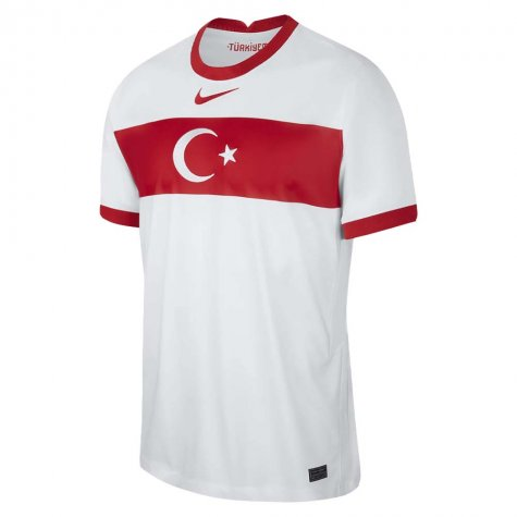 2020-2021 Turkey Home Nike Football Shirt