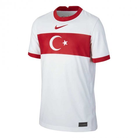 2020-2021 Turkey Home Nike Football Shirt (Kids)