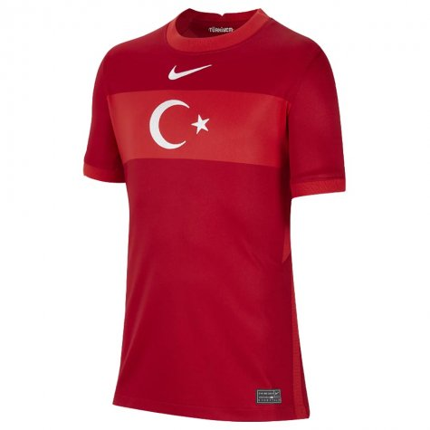 2020-2021 Turkey Away Nike Football Shirt (Kids)