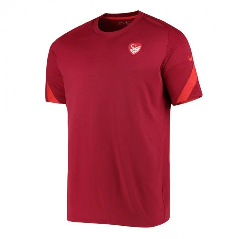 2020-2021 Turkey Nike Training Shirt (Red)