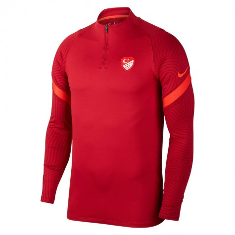2020-2021 Turkey Nike Training Drill Top (Red)