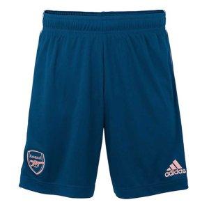 2020-2021 Arsenal Adidas Third Shorts Blue (Kids)