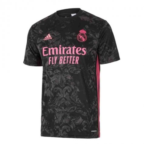 2020-2021 Real Madrid Adidas Third Football Shirt