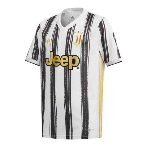 2020-2021 Juventus Adidas Home Football Shirt