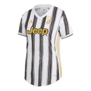 2020-2021 Juventus Adidas Home Womens Shirt