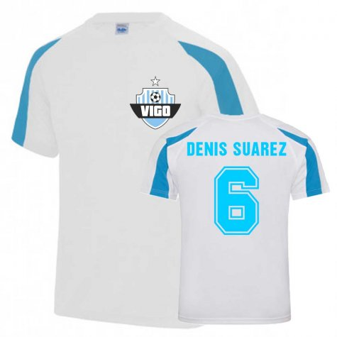 Denis Suarez Vigo Sports Training Jersey (White)