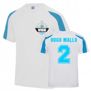 Hugo Mallo Vigo Sports Training Jersey (White)