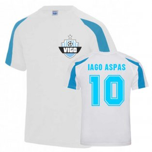 Iago Aspas Vigo Sports Training Jersey (White)