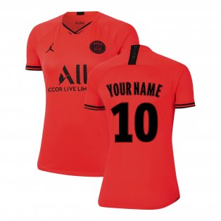 2019-2020 PSG Away Womens Shirt (Your Name)