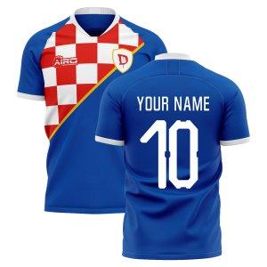 2020-2021 Dinamo Zagreb Home Concept Football Shirt