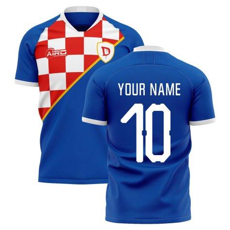 2020-2021 Dinamo Zagreb Home Concept Shirt (Your Name)