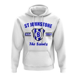 St Johnstone Established Football Hoody (White)