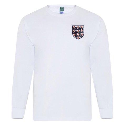 England 1966 World Cup No6 Retro Shirt LS